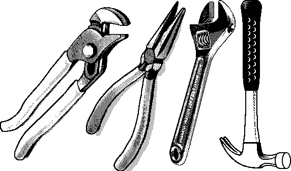 Tools Png Black And White & Free Tools Black And White.png.
