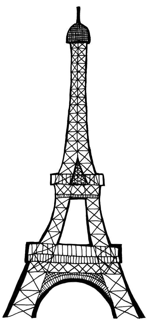 Free Tower Clipart Black And White, Download Free Clip Art.