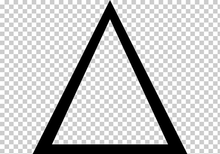 Triangle Computer Icons Arrow , triangulo PNG clipart.