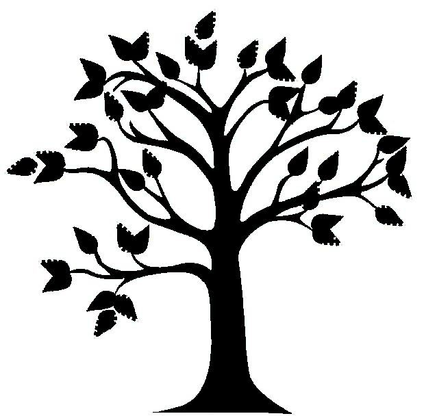 Best Tree Clipart Black And White #18993.