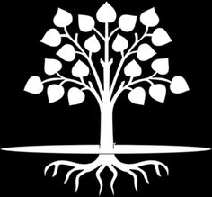 black and white tree clipart from above - Clipground