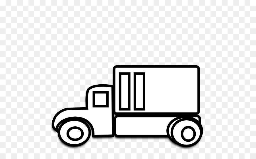 Truck And Car Png Black And White & Free Truck And Car Black And.