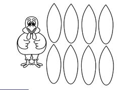 Turkey Feathers Clipart Black And White.
