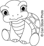 Black And White Turtle Clipart (92+ images in Collection) Page 2.