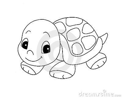 Black and white turtle clipart 5 » Clipart Portal.
