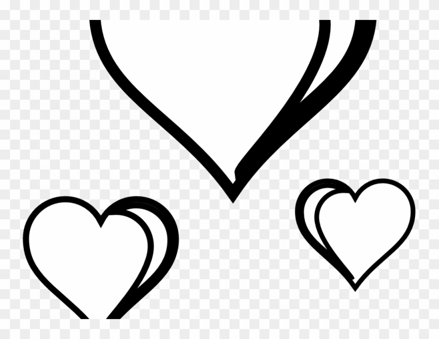 Download Heart Clipart Black And White.