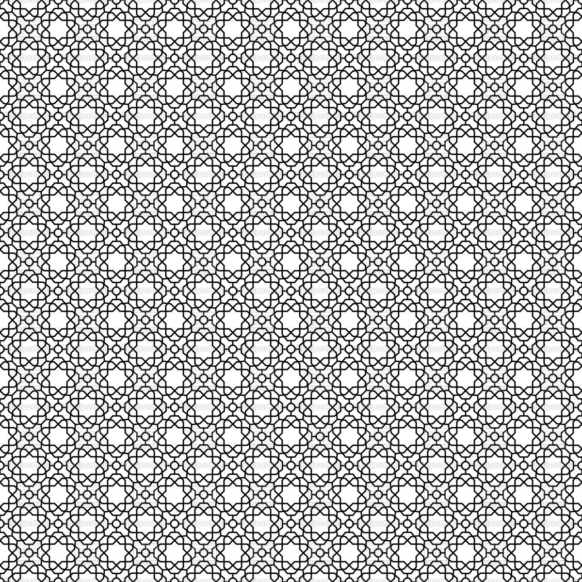 Modern black and white ornament background Stock Vector Image.