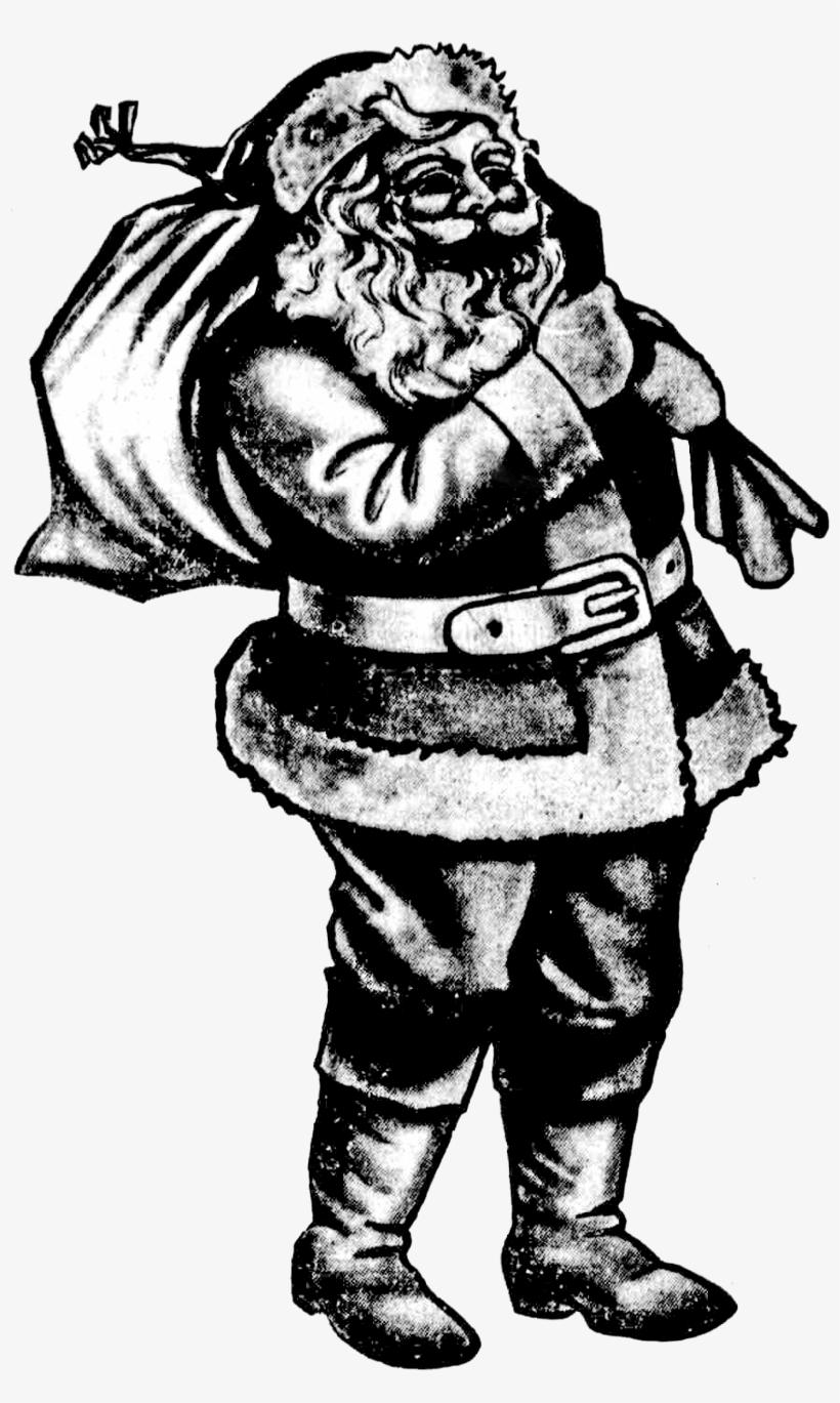 Vintage Santa Clipart.