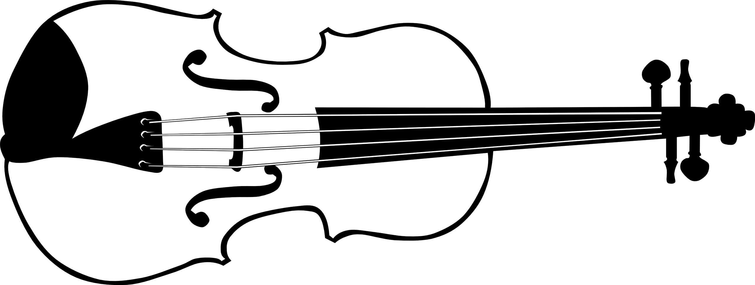 Free Violin Black And White, Download Free Clip Art, Free.