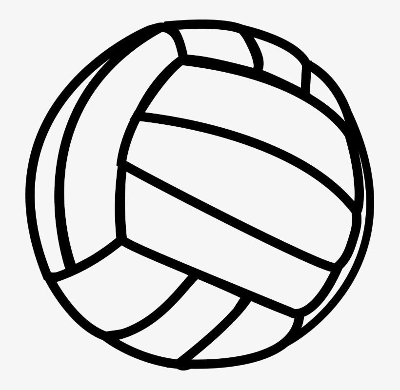 Volleyball Clip Art At Clker Com Vector Clip Art Online.