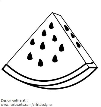 Free Watermelon Clip Art Black And White, Download Free Clip.