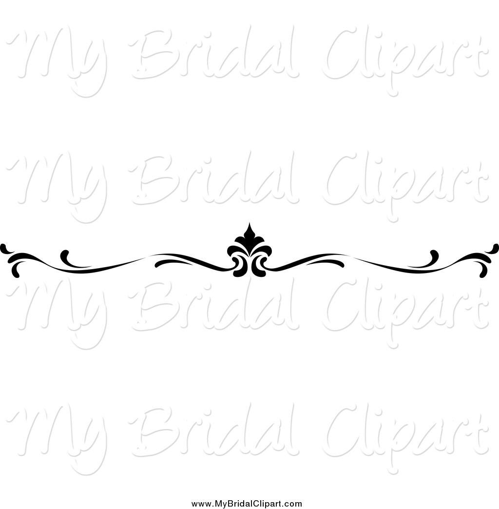 Black and white wedding border clipart 6 » Clipart Station.
