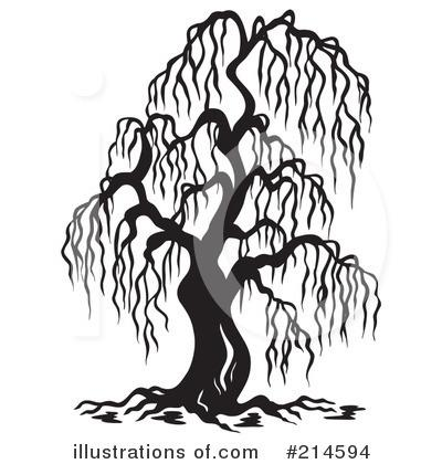Weeping Willow Tree Black And White Tattoo black and white willow...