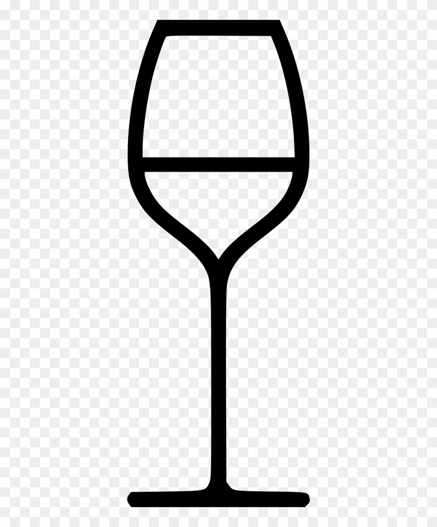 White Wine Glass Comments Clipart (#1747489).