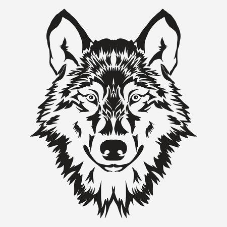 7,917 White Wolf Stock Vector Illustration And Royalty Free White.