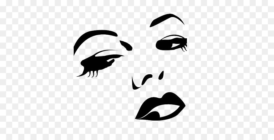 Woman Face clipart.