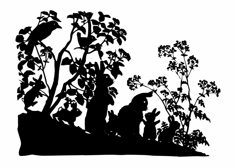 Free Creatures Liftarn Woodlands Clipart Black And White.