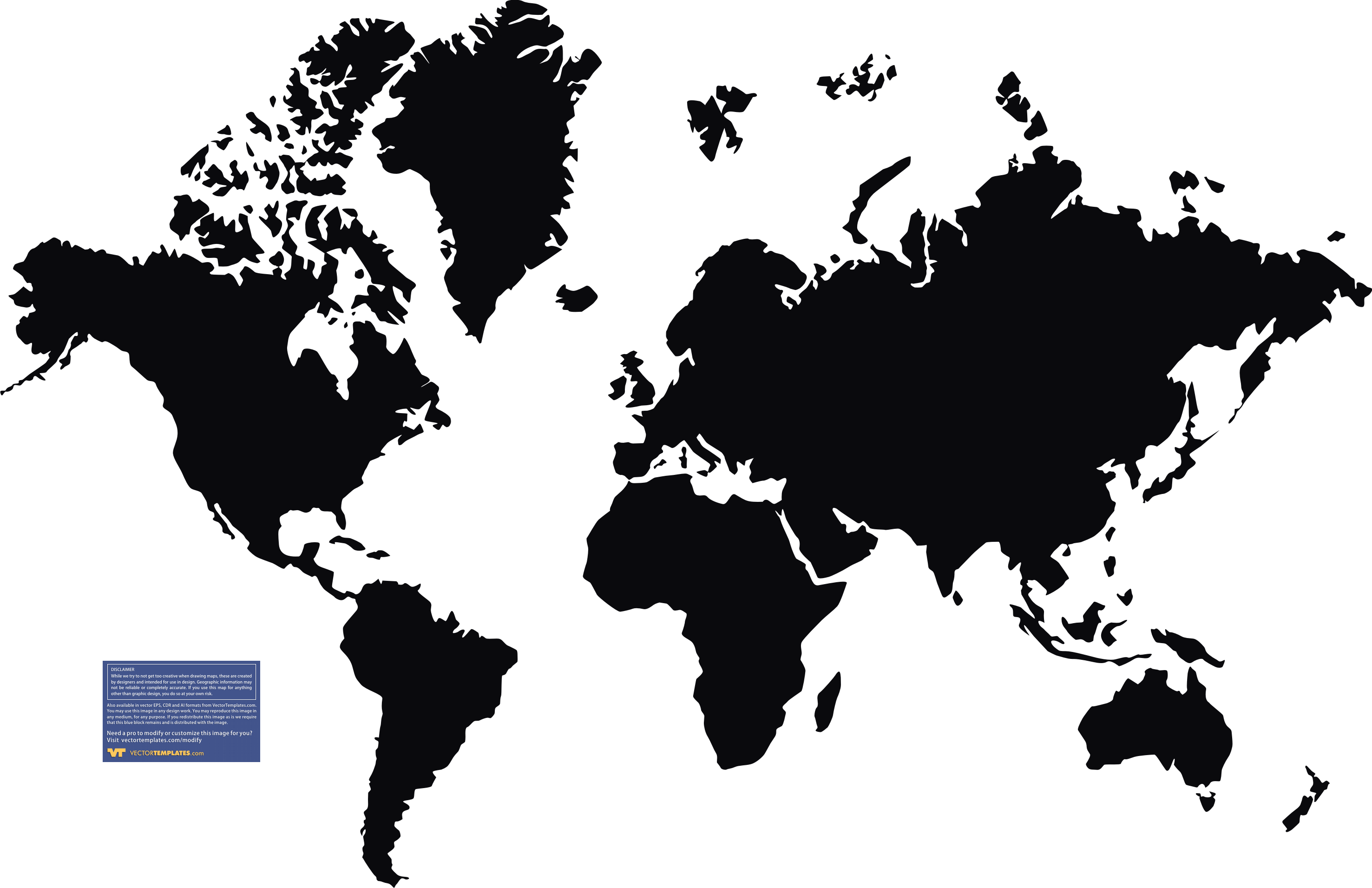 World Map Black And White With Continents Hd Images 3 HD Wallpapers.