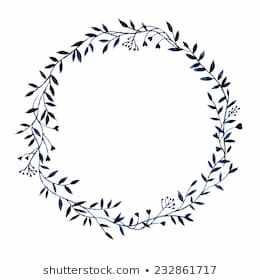 Black and white wreath clipart 5 » Clipart Portal.