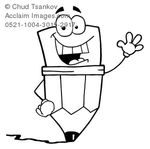 Writing Clip Art Black And White.