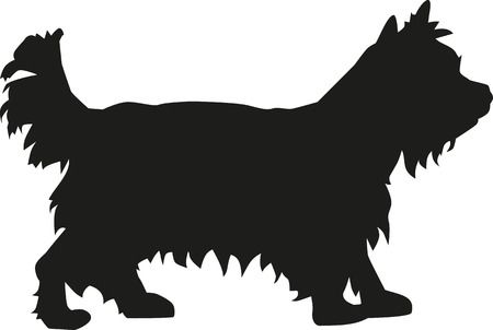 Yorkie clipart black and white 3 » Clipart Station.