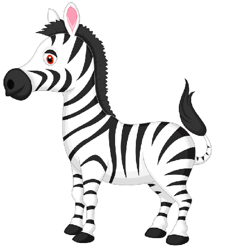 Zebra clipart black and white free images 3 clipartpost.