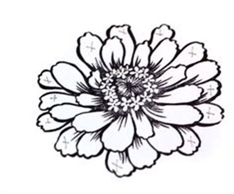 Collection of Zinnias clipart.