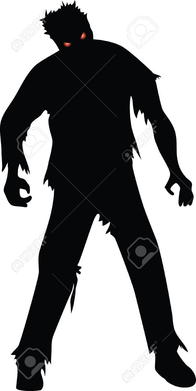 Black and white zombie clipart 4 » Clipart Portal.