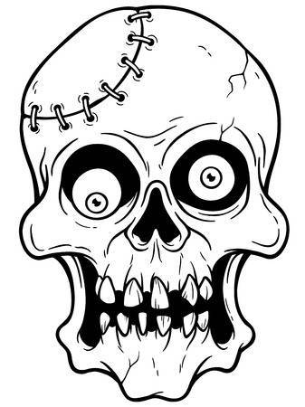 Black and white zombie clipart » Clipart Portal.