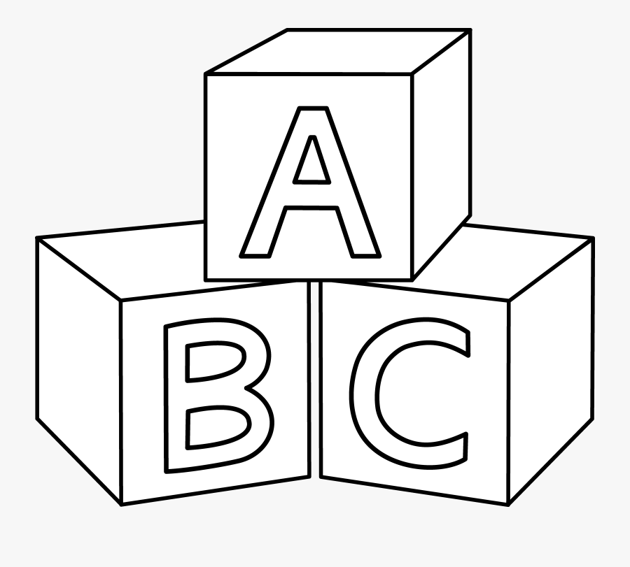 Clip Art Abc Block Clip Art.