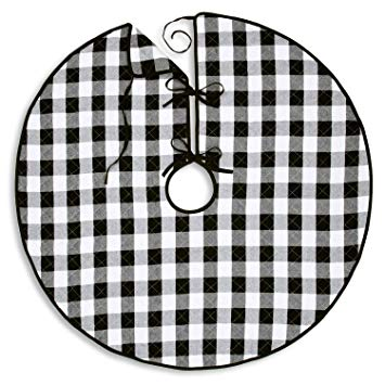 Amazon.com: Cackleberry Home Black and White Buffalo Check.
