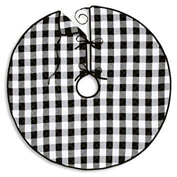 Amazon.com: Cackleberry Home Black and White Buffalo Check.