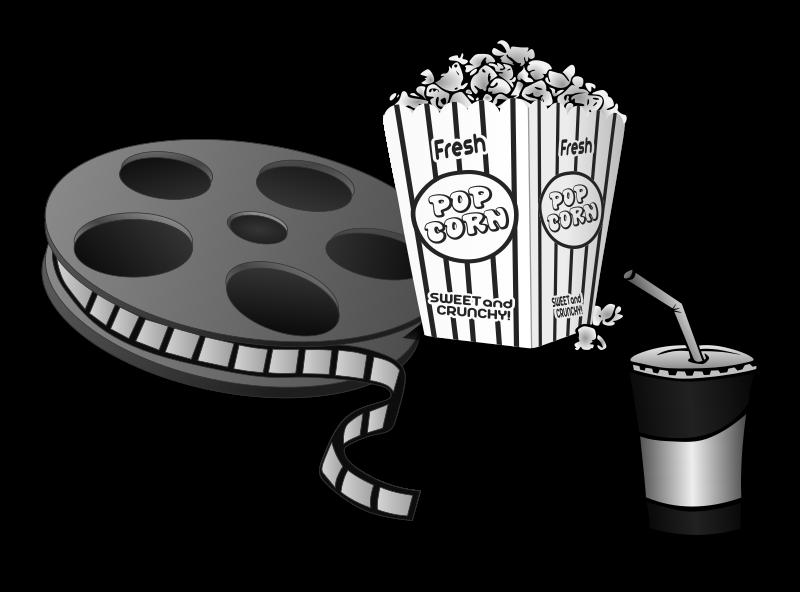 White clipart popcorn, White popcorn Transparent FREE for.