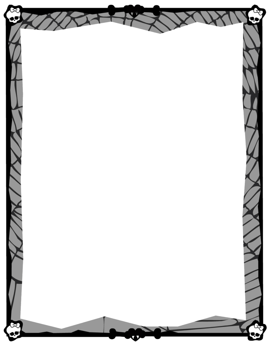 Black And White Border clipart.