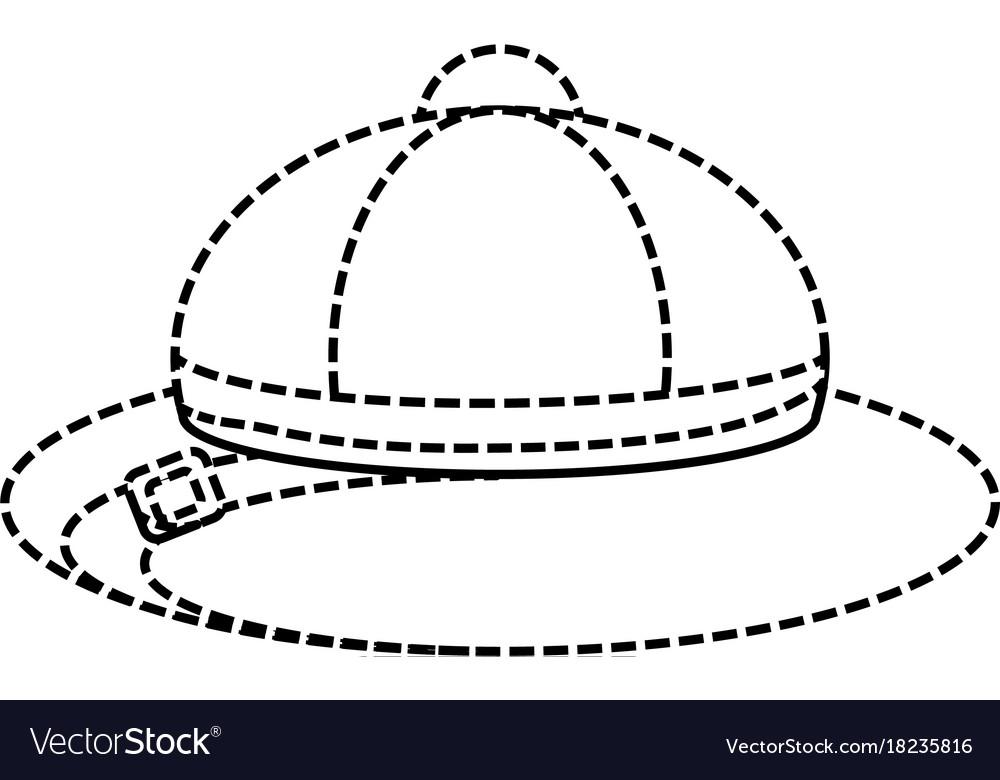 Safari hat.