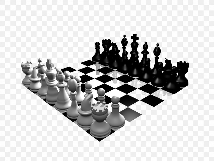 Chess Piece White And Black In Chess King Clip Art, PNG.