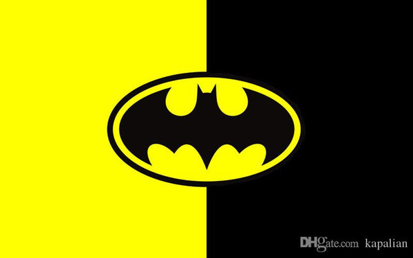 2019 Batman Logo In Yellow And Black Movie High Quality Art Posters Print  Photo Paper 16 24 36 47 Inches From Kapalian, $9.64.