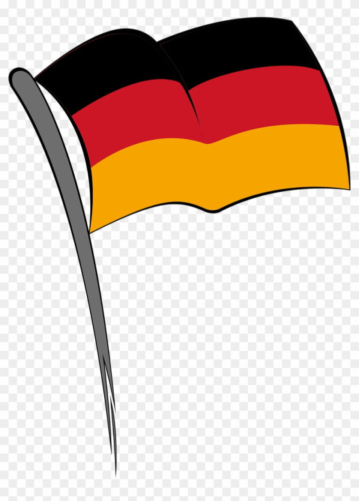 Germany Flag Germany Black Red Yellow Striped Euro Free.