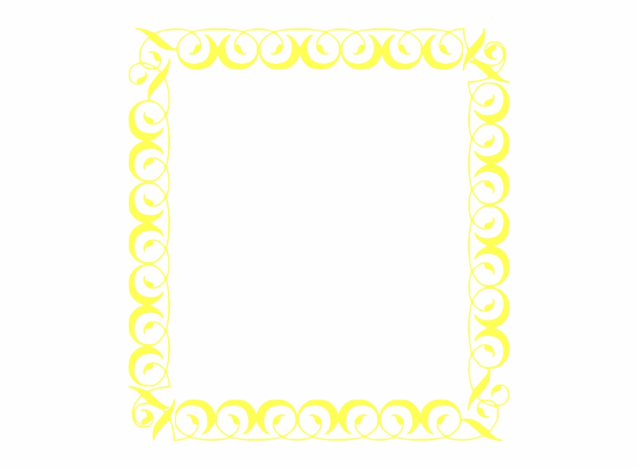 Black And Yellow Borders.