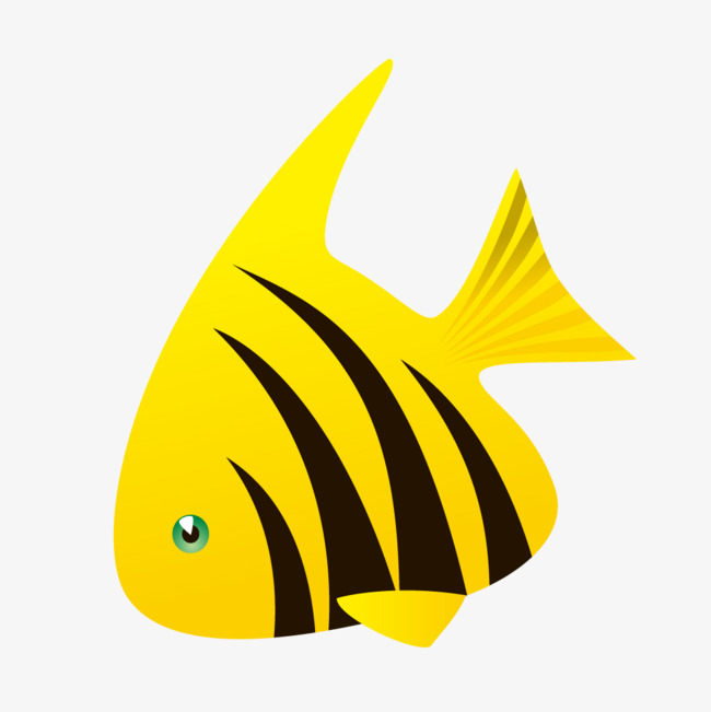 Yellow Fish Clipart Png.