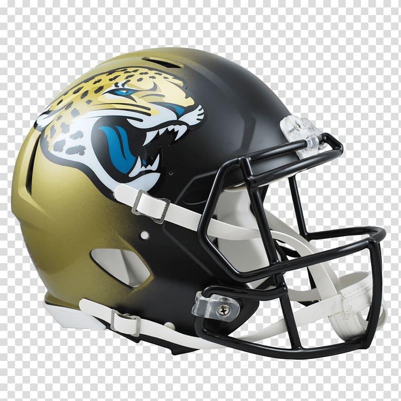 Black and yellow sports helmet illustration, Jacksonville.