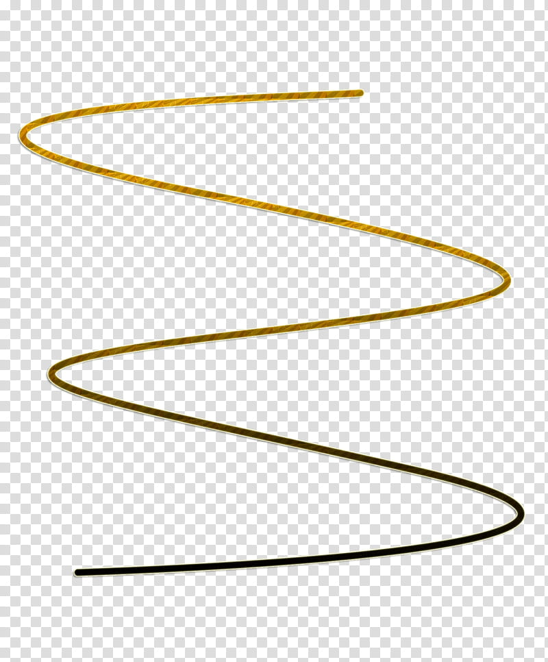 Black and yellow curved lines illustration transparent.