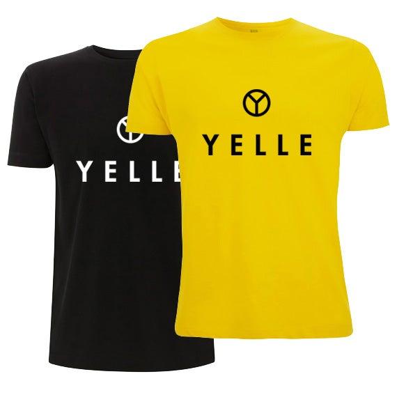 YELLE logo (black or yellow) Tshirt, free shipping!.