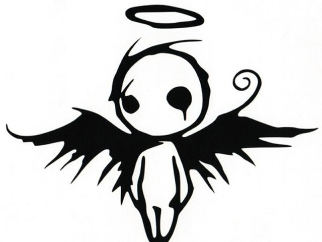 Free Fallen Angel Clipart, Download Free Clip Art on Owips.com.
