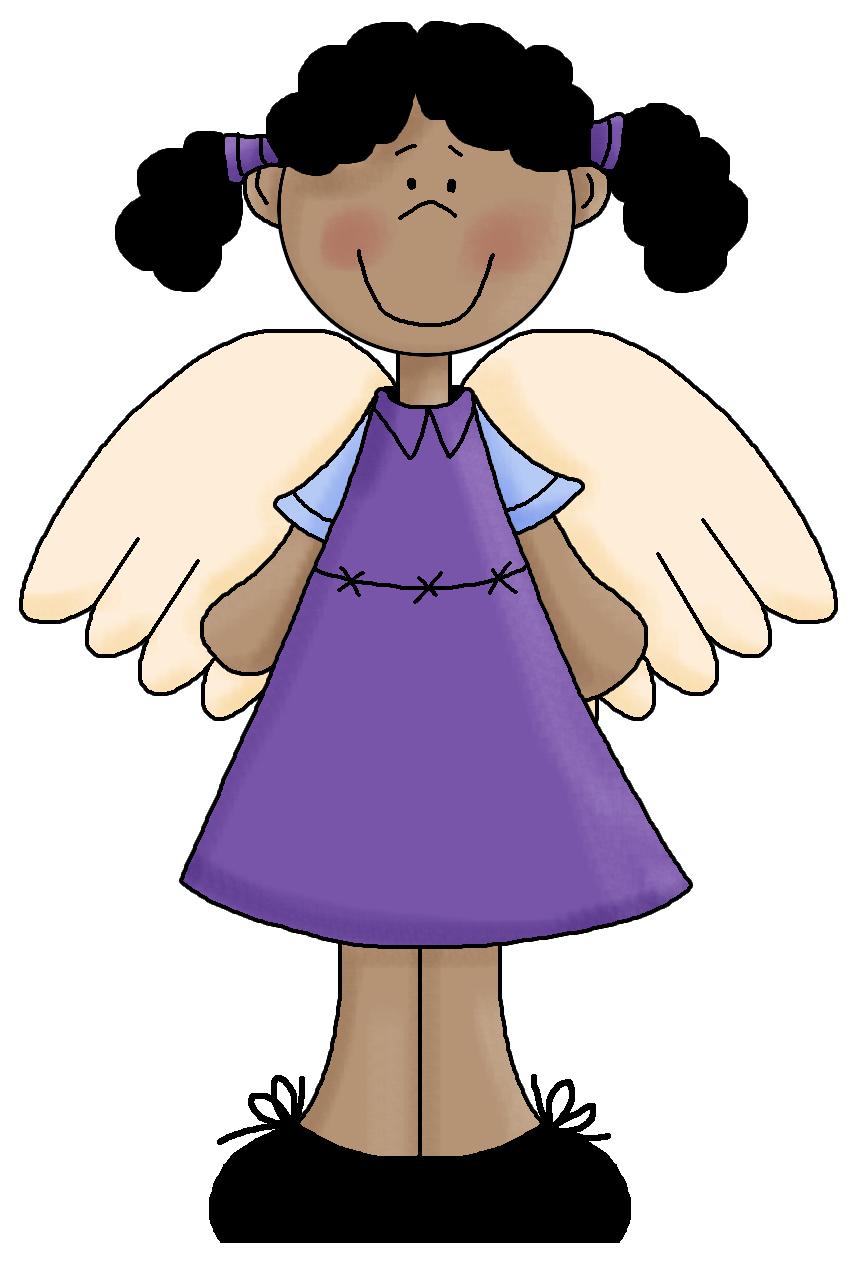 Black Angel Clipart.