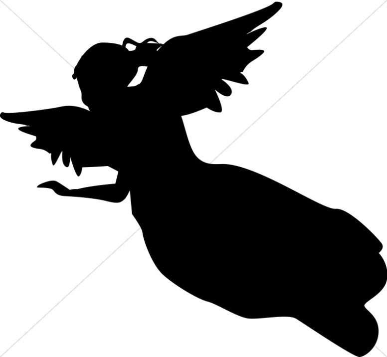 Messenger Angel Clipart.