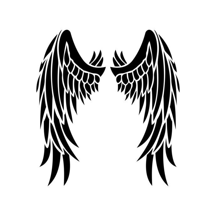 Pin on Angel wings.