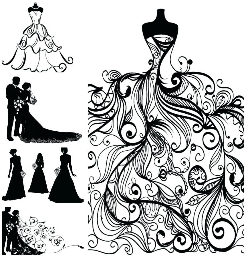 Bridal shower clipart wedding images.