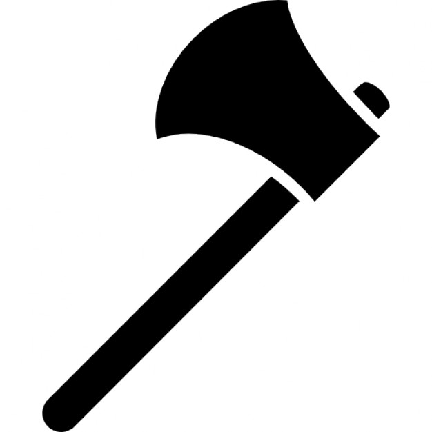 Axe Black Vector PNG Transparent Axe Black Vector.PNG Images.