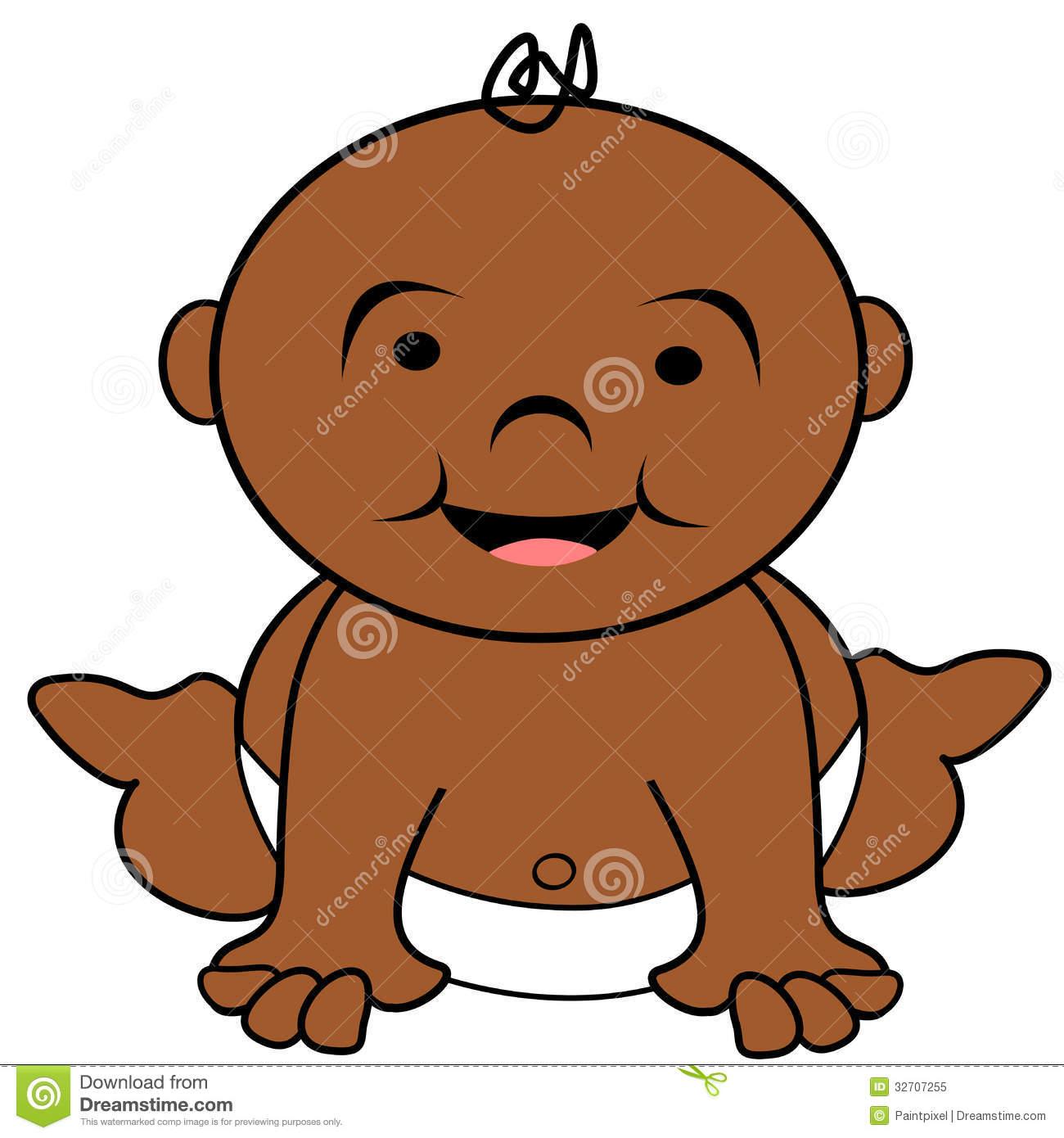 African American Baby Clipart Free.